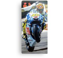 Rossi racing by db artstudio Canvas Print