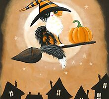 Calico Cat Pumpkin Delivery by Ryan Conners
