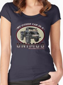 My other car is a UNIMOG Women's Fitted Scoop T-Shirt