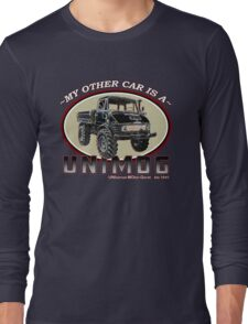 My other car is a UNIMOG Long Sleeve T-Shirt