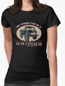 My other car is a UNIMOG Womens Fitted T-Shirt