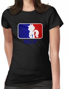 Major League Pony (MLP) - Applejack Womens Fitted T-Shirt
