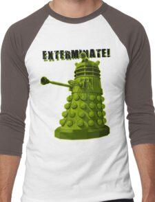 EXTERMINATE ARMY Men's Baseball ¾ T-Shirt