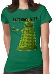 EXTERMINATE ARMY Womens Fitted T-Shirt