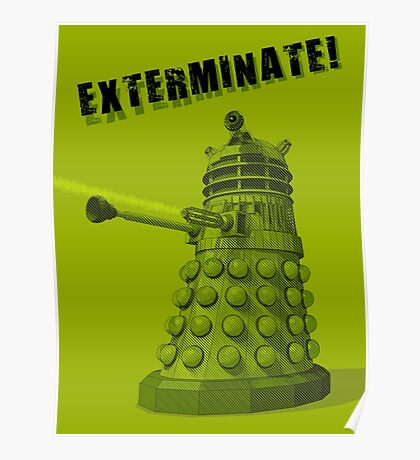 EXTERMINATE ARMY Poster