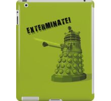 EXTERMINATE ARMY iPad Case/Skin