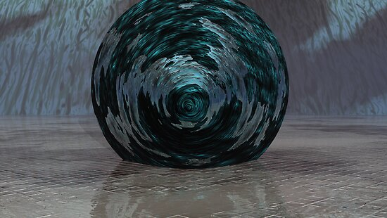 Atmos, Earth & Water Swirl by Sazzart