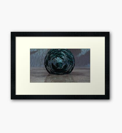Atmos, Earth & Water Swirl Framed Print