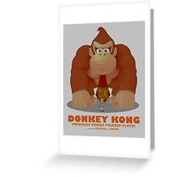DK Movie Poster Greeting Card