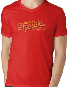 Not into sports  Mens V-Neck T-Shirt