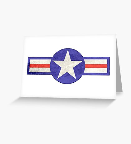 Aviation Insignia Greeting Card