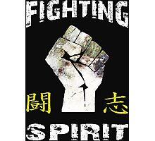 Fighting Spirit Photographic Print