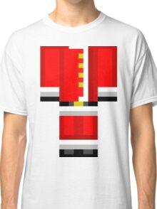 Minecraft Skin Santa Duvet Cover Christmas Bedding Classic T-Shirt