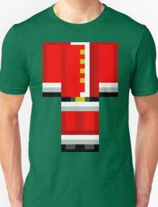 Minecraft Skin Santa Duvet Cover Christmas Bedding Unisex T-Shirt