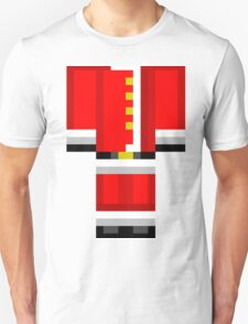 Minecraft Skin Santa Duvet Cover Christmas Bedding T-Shirt