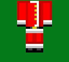 Minecraft Skin Santa Duvet Cover Christmas Bedding by HyperDerpz