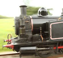 Steam train flys by by Nobleone