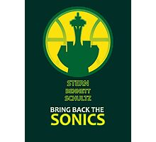 Sonics - F. David Stern Photographic Print