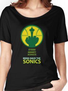 Sonics - F. David Stern Women's Relaxed Fit T-Shirt