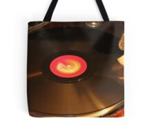 OLD RECORD Tote Bag