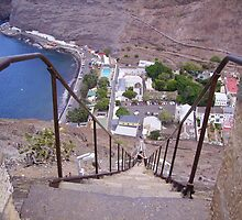 Jacobs Ladder, St Helena by dizzyshell42
