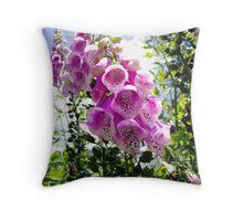 Bell Flower Throw Pillow