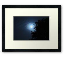 Blue Sea Sky Framed Print