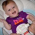 Zoey Having A Swinging Time! by John  Kapusta