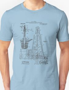 1911 Oil Rig Patent T-Shirt