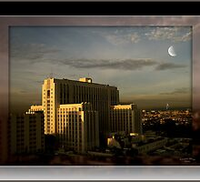 """"""" L.A. County Hospital Dawn """" by CanyonWind"""