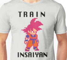 Train Insaiyan Super Saiyan God Goku (Black) Unisex T-Shirt