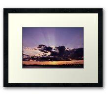 Hushed Framed Print