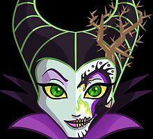 Sugar Skull Series - Dragon Queen by Ellador
