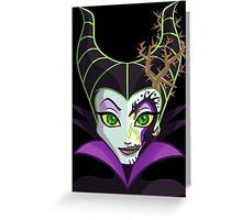 Sugar Skull Series - Dragon Queen Greeting Card