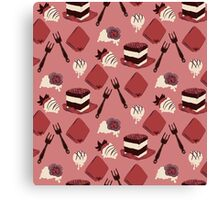 Scattered Sweets Canvas Print