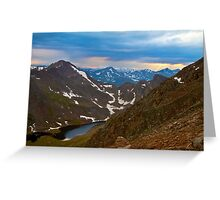 Mount Bierstadt Greeting Card