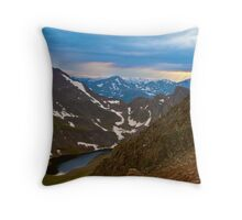 Mount Bierstadt Throw Pillow