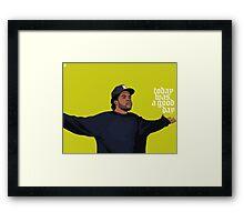 Ice Cube 4 everyone Framed Print