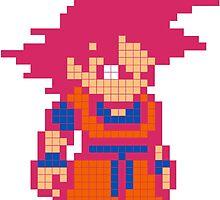 Super Saiyan God Goku by Lannie1787