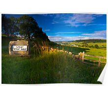 Great Fryup Dale Poster