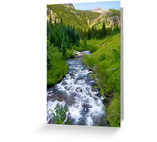 Oh-Be-Joyful River  Greeting Card