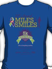 """Miles for Smiles"" Gotham City 5k Charity Run T-Shirt"