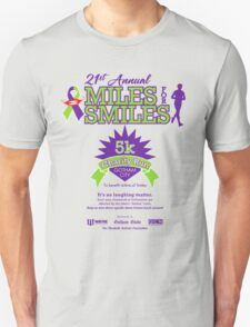 """Miles for Smiles"" Gotham City 5k Charity Run T-Shirt"