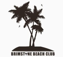 Brimstone Beach Club Baby Tee