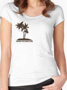 Brimstone Beach Club Women's Fitted Scoop T-Shirt