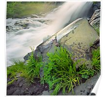 Waterfall Vignette Poster