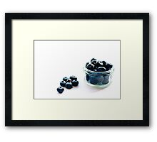 high key berries.. Framed Print