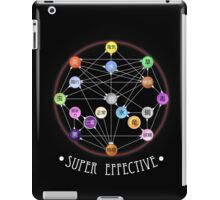 Pokemon Super Effective Type Chart iPad Case/Skin