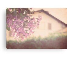 Italian Floral Canvas Print