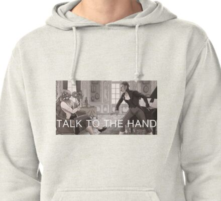 Forgetting Beethoven - Talk to the Hand Pullover Hoodie